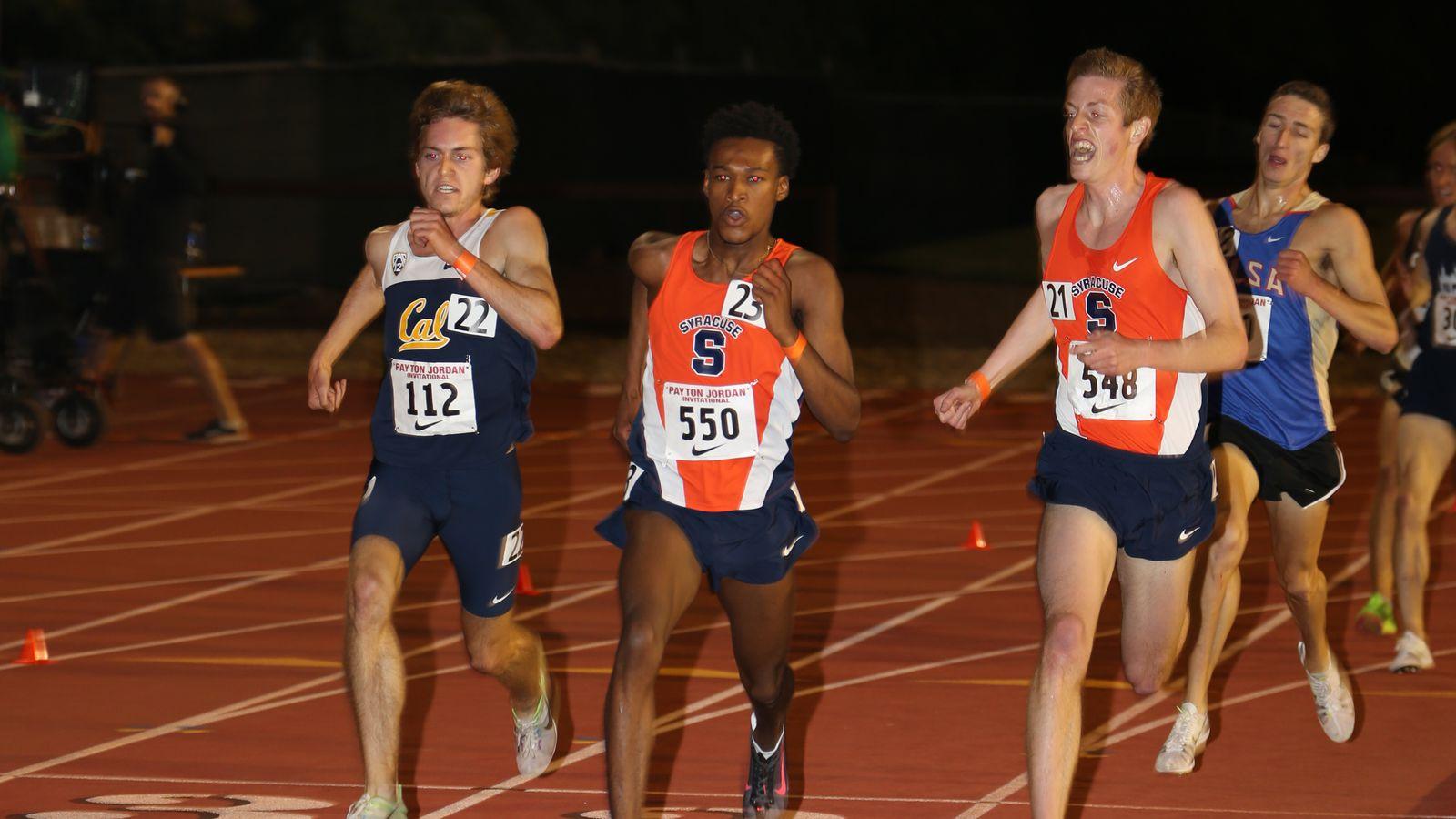 Syracuse Track Sitting Down With Orange Stars Martin