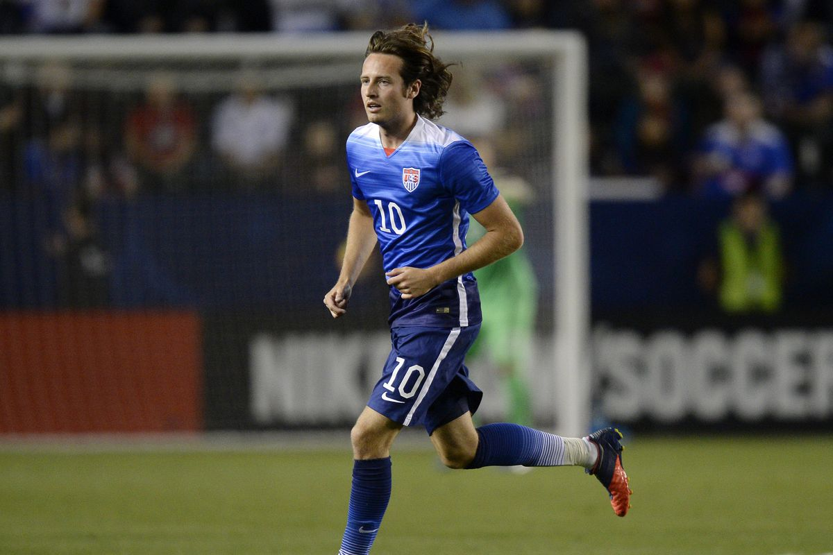 Mix Diskerud as he runs away from the responsibility of being a decent soccer player. He was especially pants tonight.
