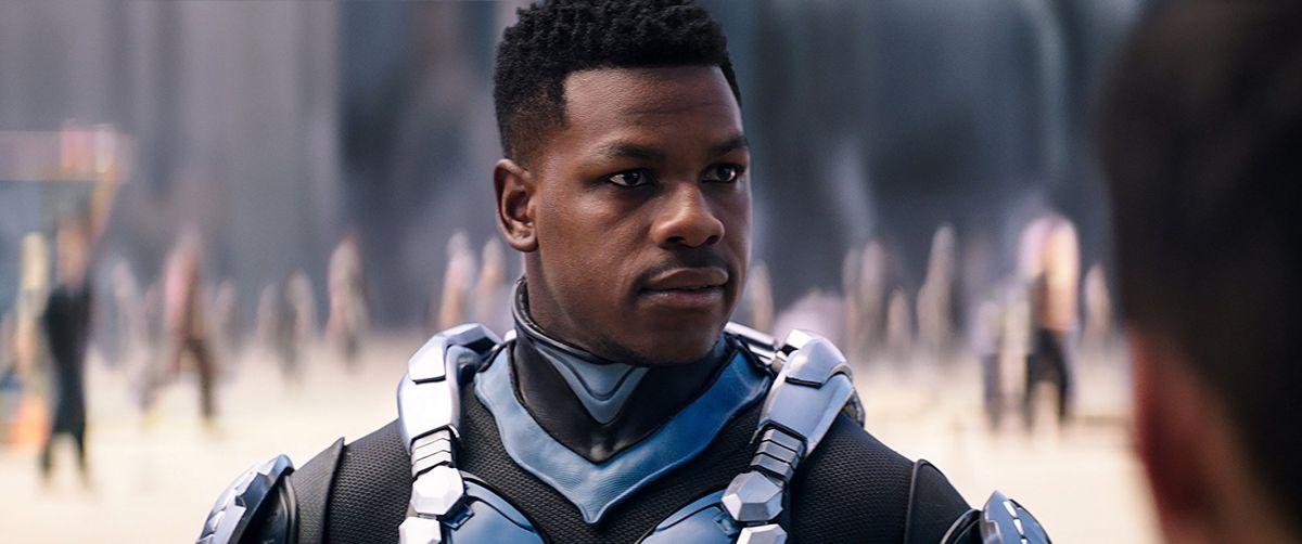John Boyega plays Jake Pentecost in Pacific Rim: Uprising