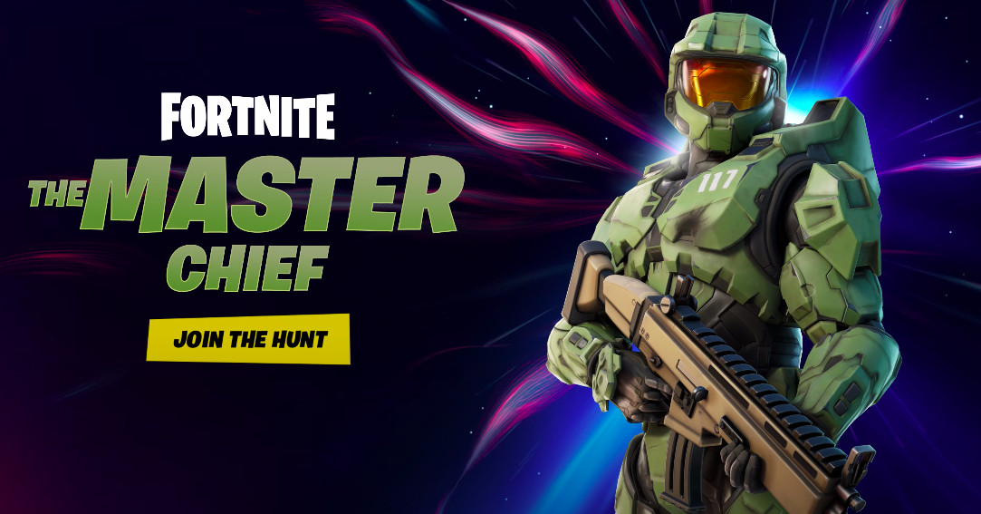 Master Chief joins the cast of Fortnite