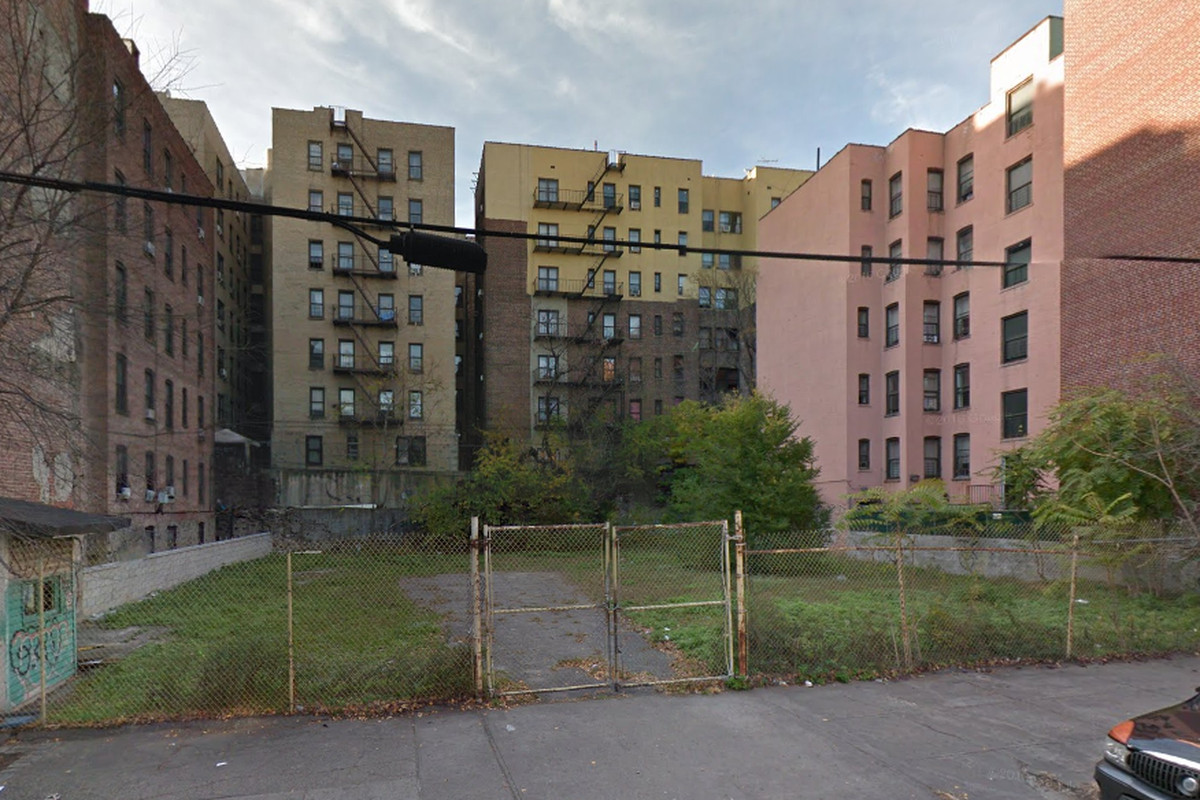 Vacant south bronx lot will be transformed into a 43 unit Building on a lot