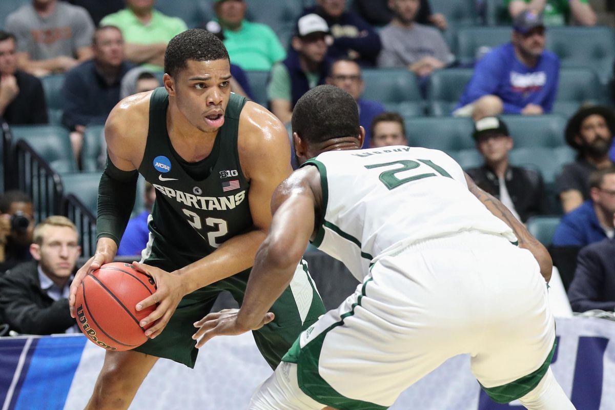 NCAA Basketball: NCAA Tournament-First Round-Michigan State vs Miami