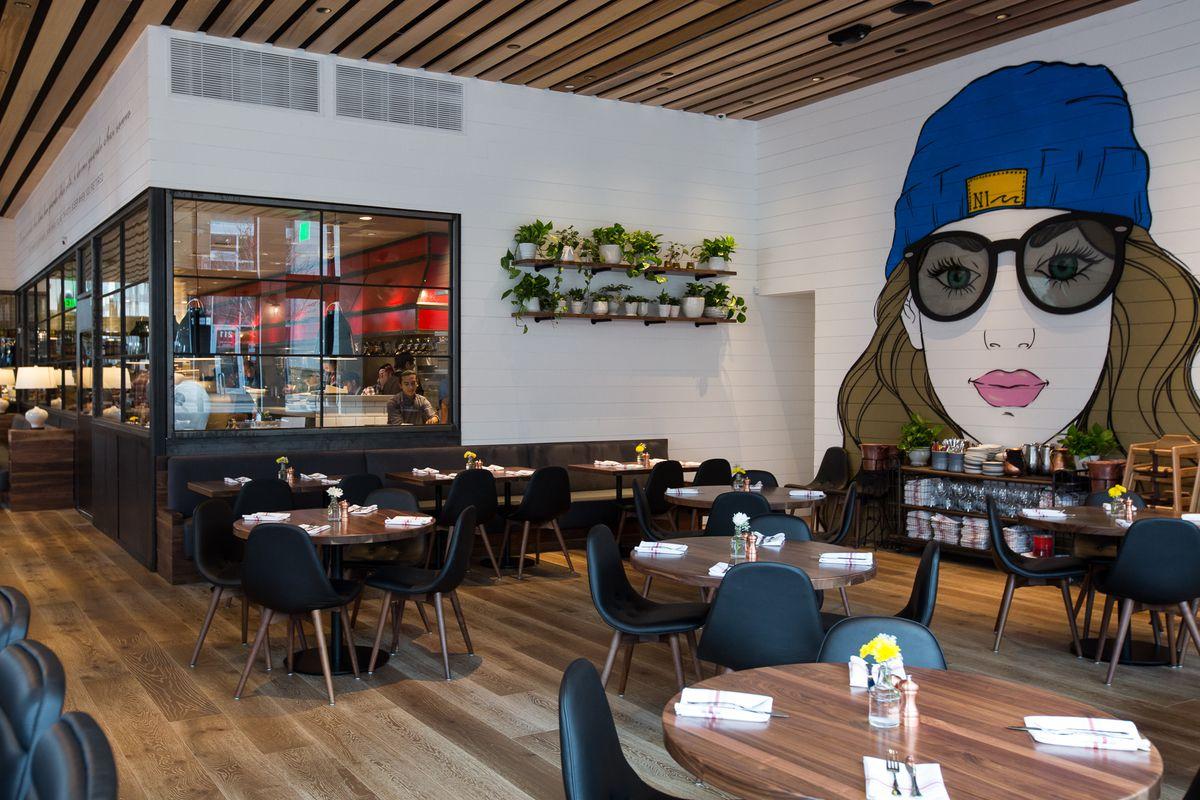 Interior Of North Italia Downtown Fox Restaurant Concepts