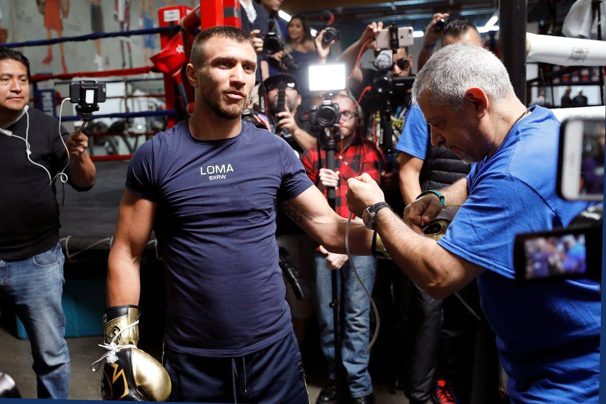 Vasyl Lomachenko Media Workout