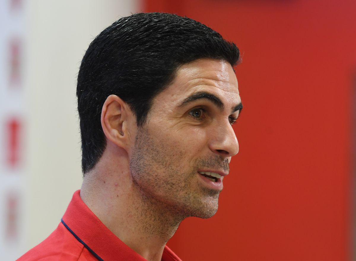 New Arsenal New Head Coach Mikel Arteta Visits the Emirates Stadium