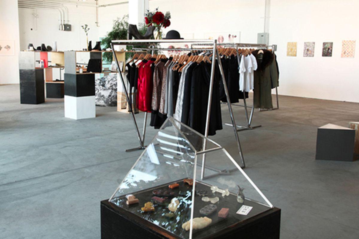 The Crybaby winter installation at 171 S. La Brea Ave. Photo via Crybaby Presents.
