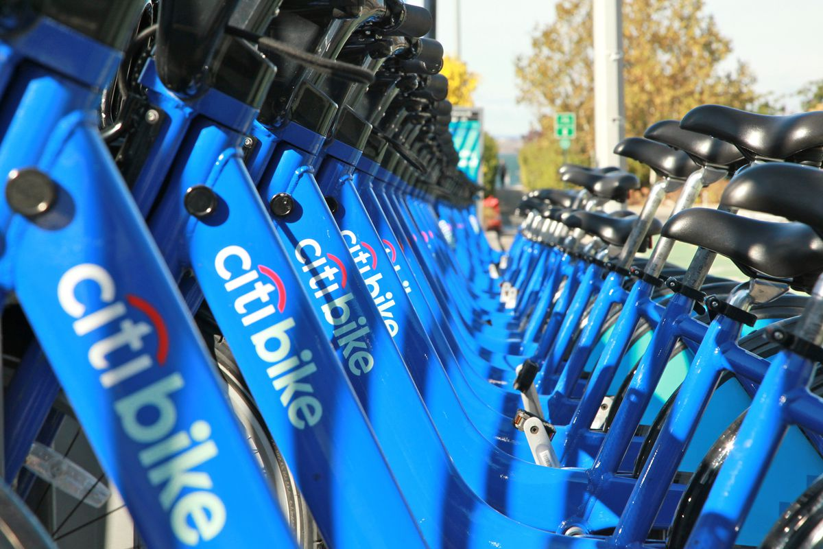 New York's Citi Bike program, launched in May 2013.