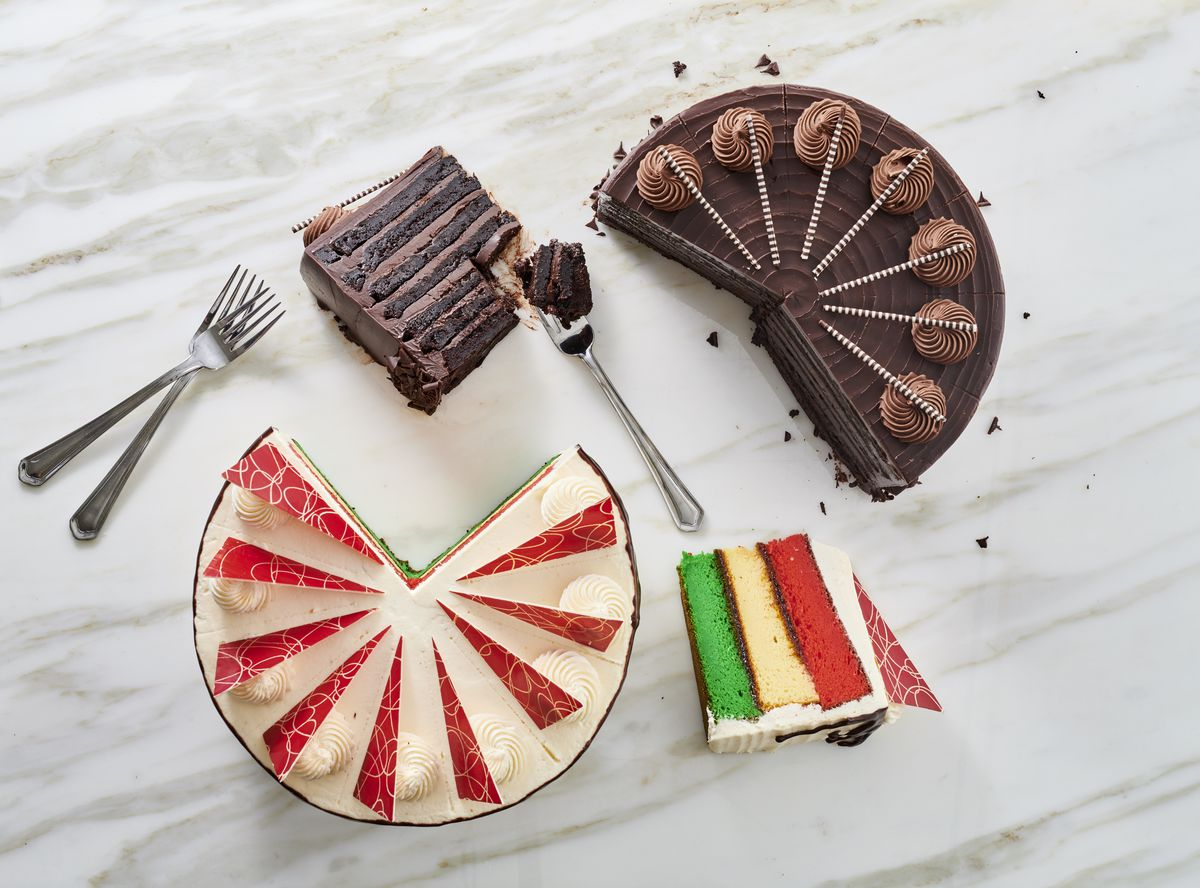 Desserts at Pronto by Giada