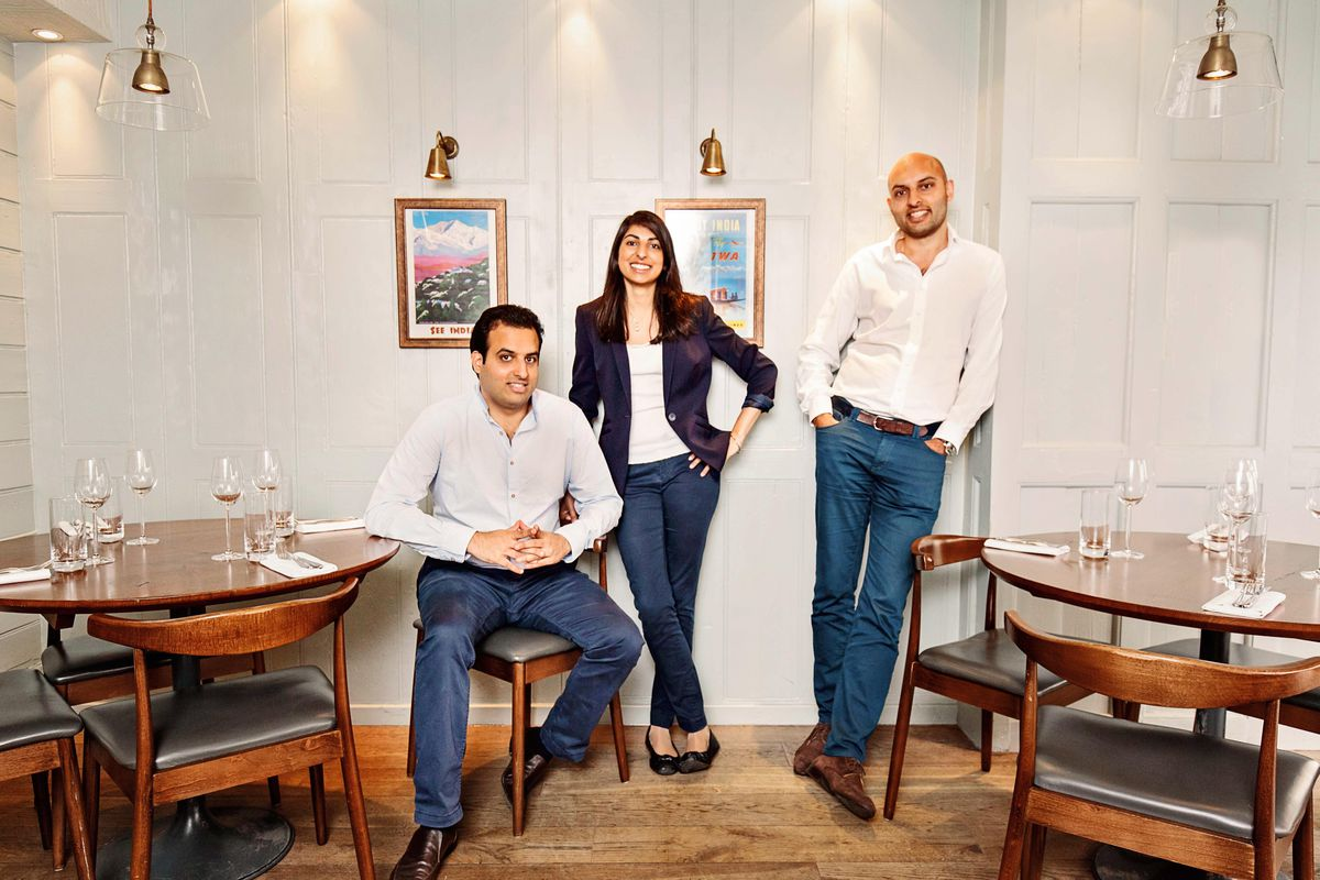 Jyotin Sethi, right, CEO JKS Restaurants, the London restaurant group behind Michelin-starred Gymkhana, Trishna, Lyle's, Sabor, and two-Michelin-Starred Kitchen Table, discusses the importance of the VAT cut during the coronavirus pandemic lockdown in London