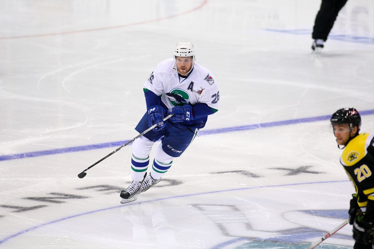 Brandon Segal scored his fifth goal of the season in the Whale's 2-1 defeat on Friday night