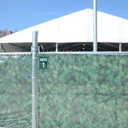 2:29 p.m. New gate designation for the VIP/Players parking lot -