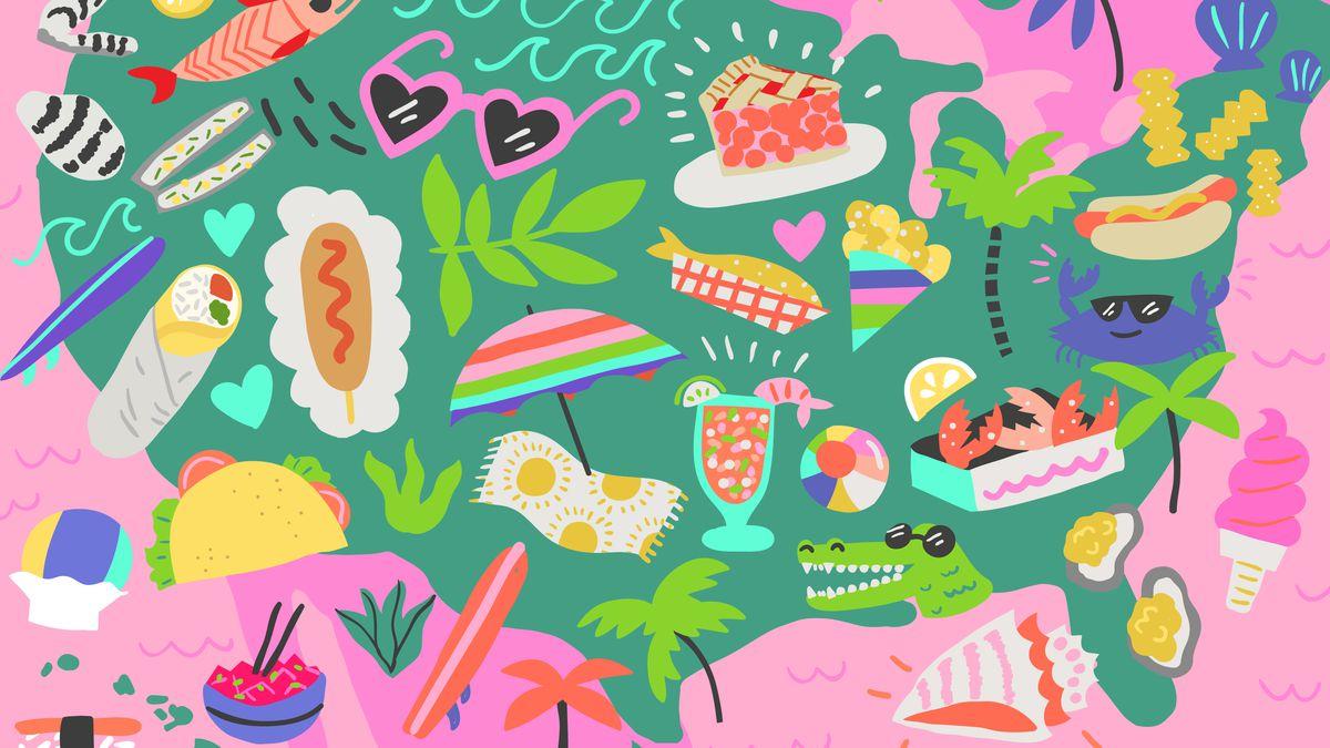 America\'s Favorite Beach Foods in Every Region - Eater