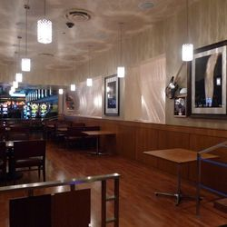 The Mr. Lucky's dining area on the casino floor.