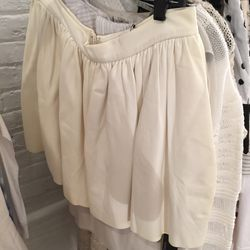 Leather skirt, $75 (was $200)