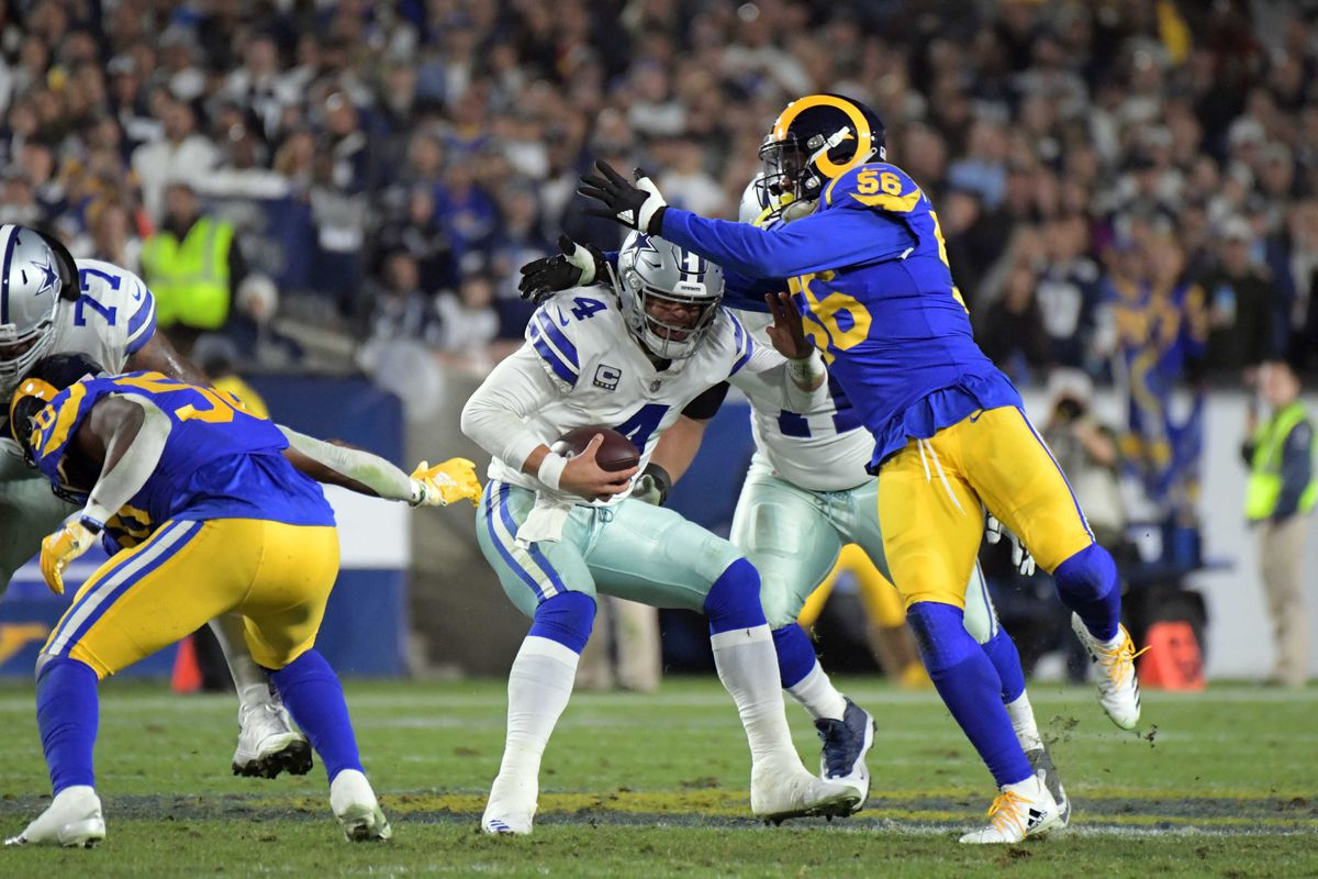 255999bb8159 NFL Playoff Results 2019  Cowboys eliminated from playoffs as Rams ...