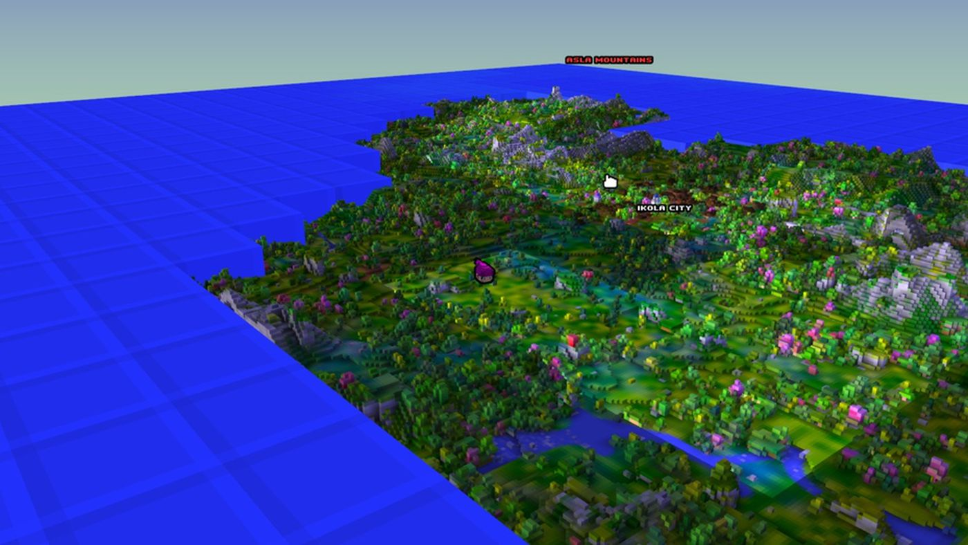 Cube world where minecraft meets warcraft polygon sciox Gallery