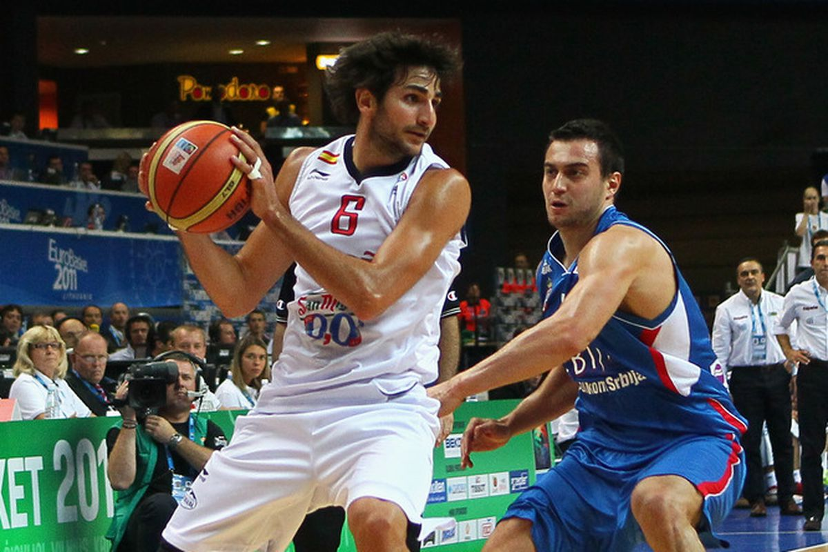 Ricky Rubio at Eurobasket 2011