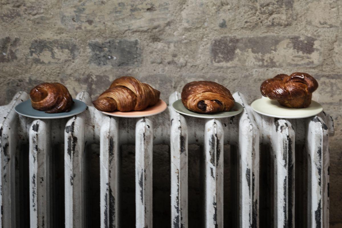 Best London croissants at Flor in Borough Market