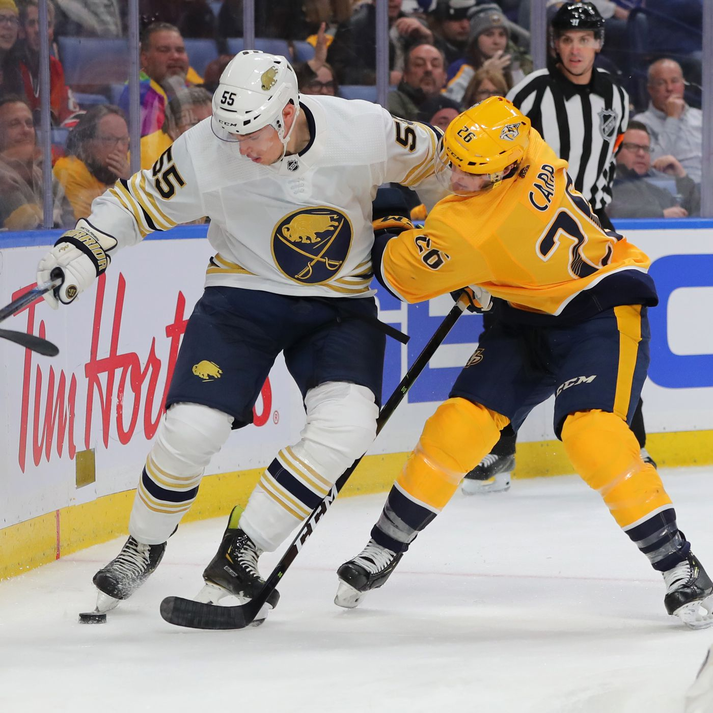 Preview Sabres Head To Nashville In Last Game Before All Star Break Die By The Blade