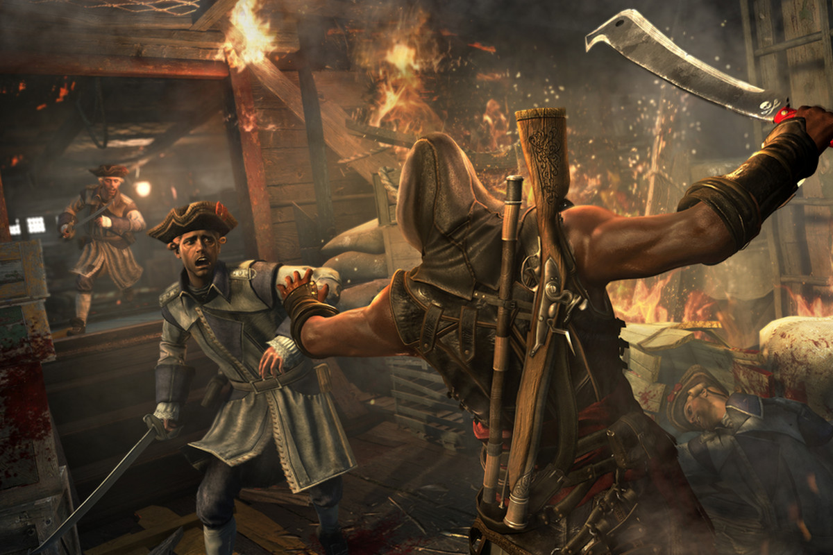 You can't turn away from slavery in Assassin's Creed 4's ...