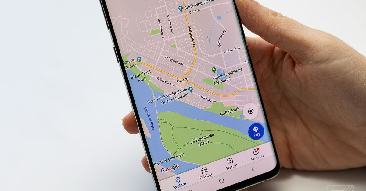 Google Maps can now tell you your speed in real time