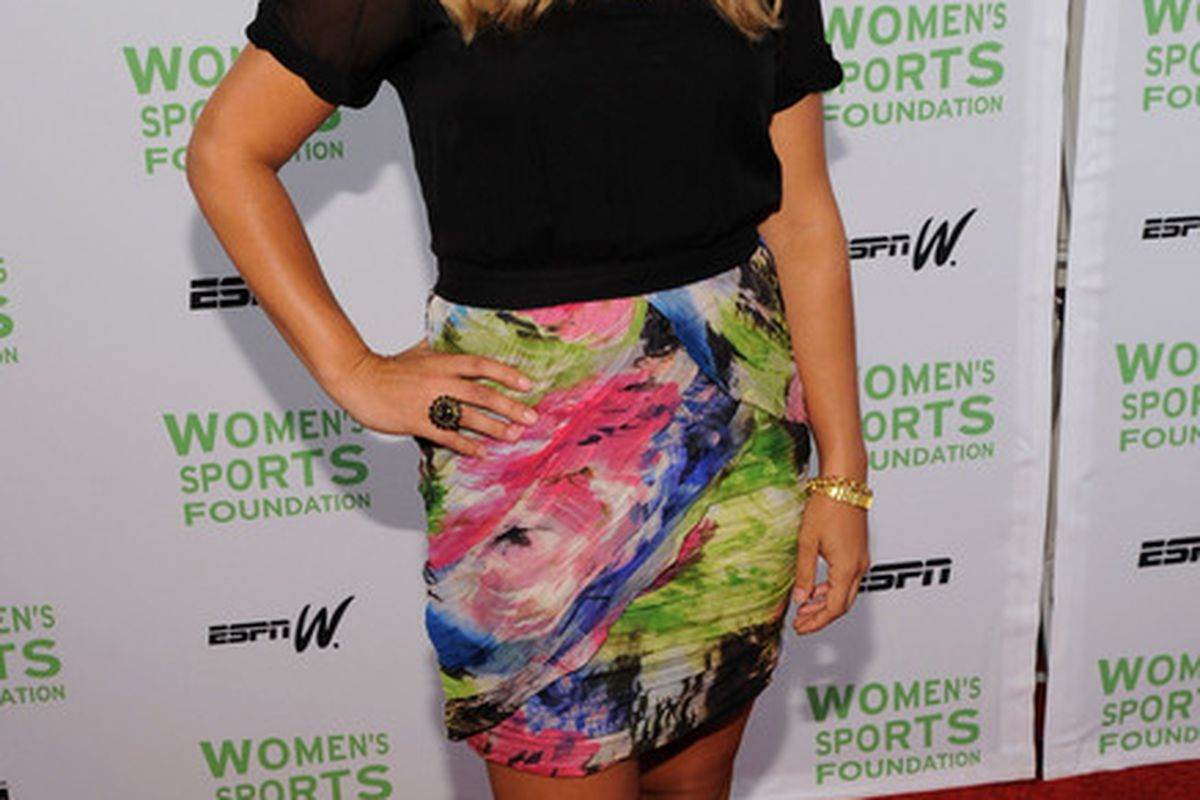 """I typed in """"women's lacrosse"""" and a picture of Kristen Kjellman showed up. (Photo by Bryan Bedder/Getty Images)"""