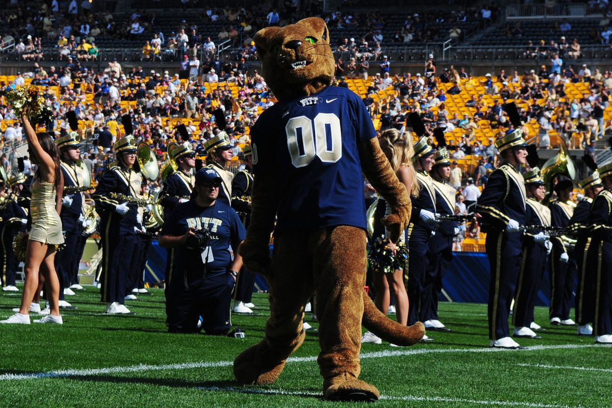 Man, I hope the Nittany Lion goes all Ohio Bobcat on this thing.