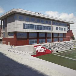 View from South Side of Martin Stadium