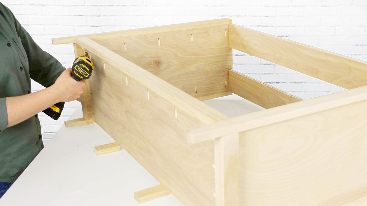 Fall 2021, Easy DIY, console cabinet, step 3