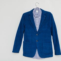 Aspesi Tretoppe blazer, $595; Aspesi shirt, $185