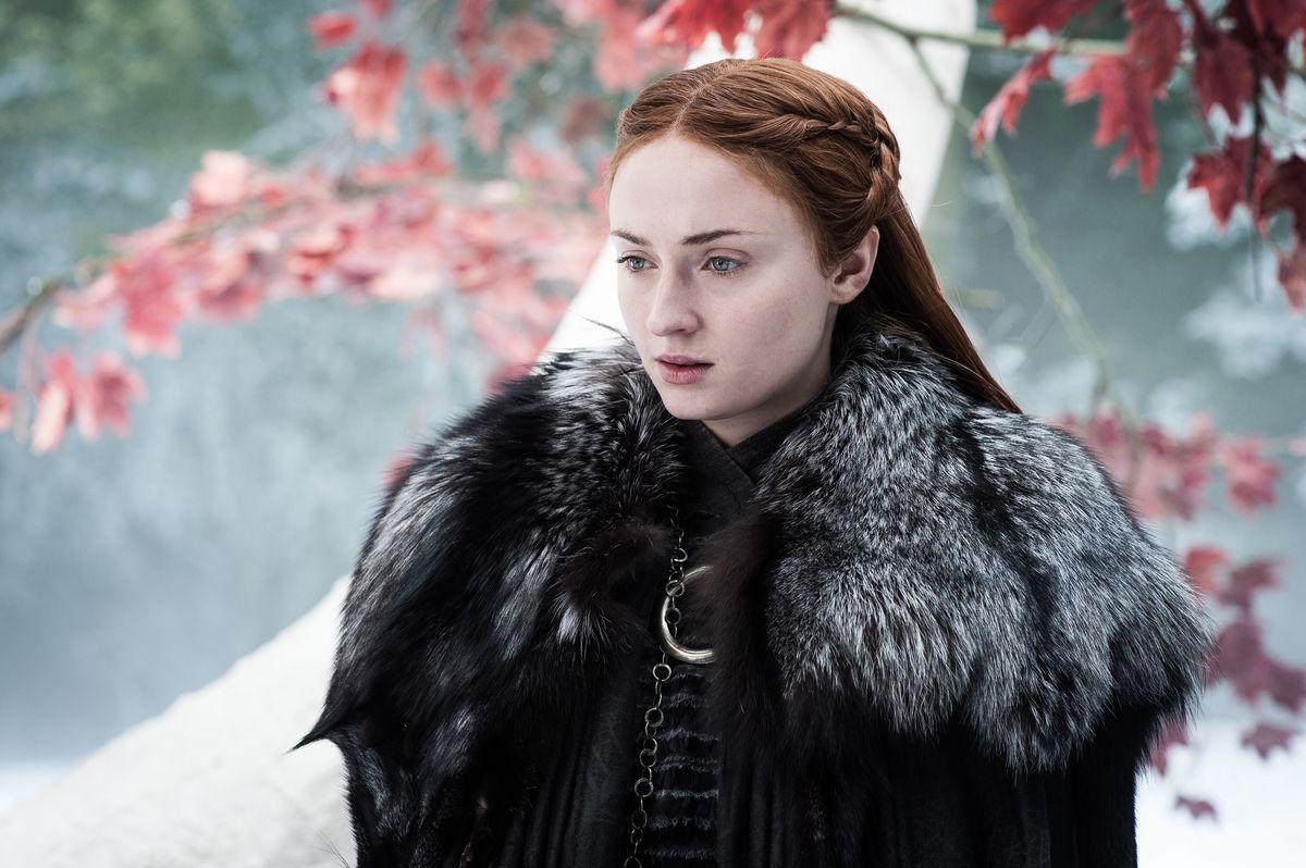 Game of Thrones 704 - Sansa Stark in Godswood