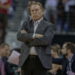 Michigan State head coach Tom Izzo was less than pleased with his team's performance, but was also very complimentary of Greg Gard in the post game.