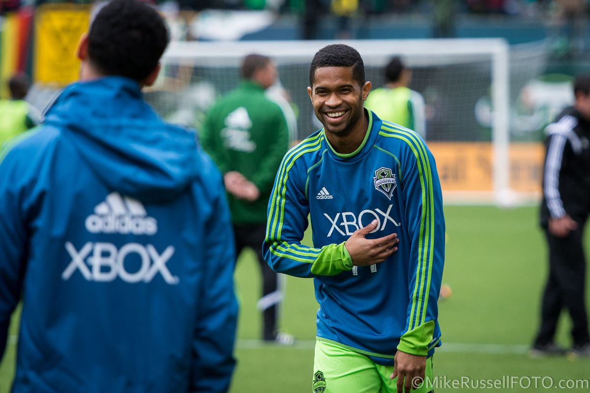 Parsemain warming up against Portland