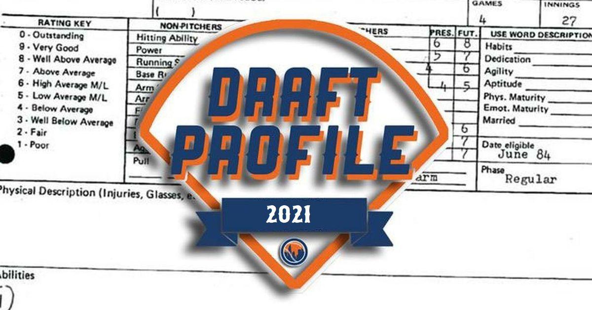 Mets 2021 Draft profile: Calvin Ziegler