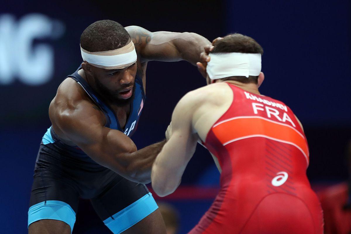 World Wrestling Championships Jordan Burroughs