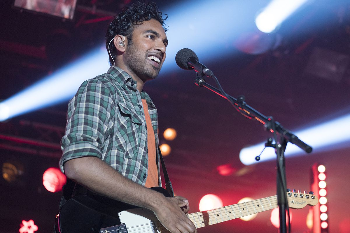 "Himesh Patel stars as Jack Malik, a struggling singer-songwriter who becomes a superstar after a freak global power outage ""erases"" some crucial world history in ""Yesterday."""
