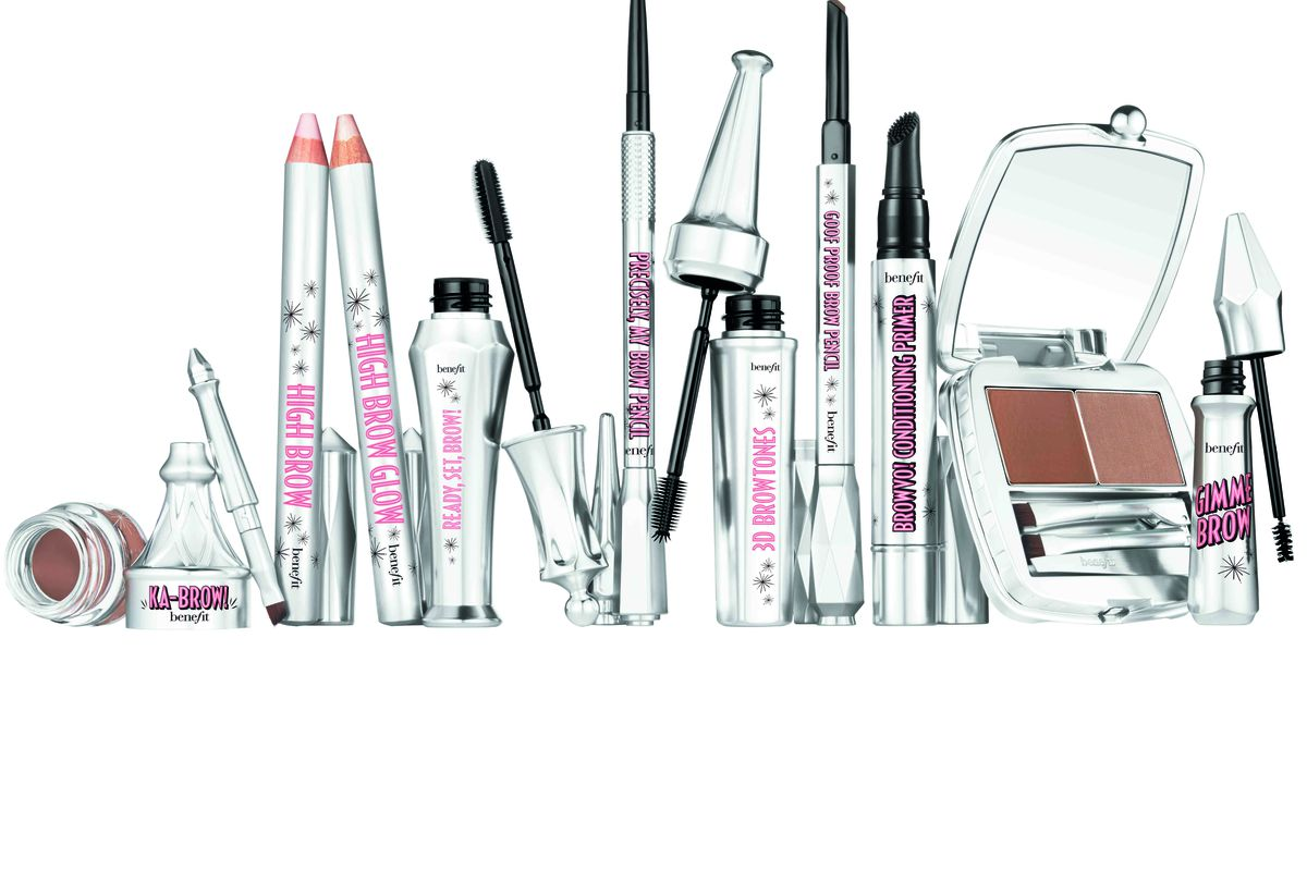 The new brow collection. Photo: Benefit