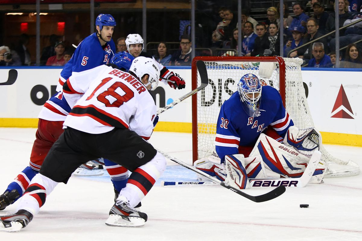 Preseason Game Preview 1 New Jersey Devils Vs New York Rangers