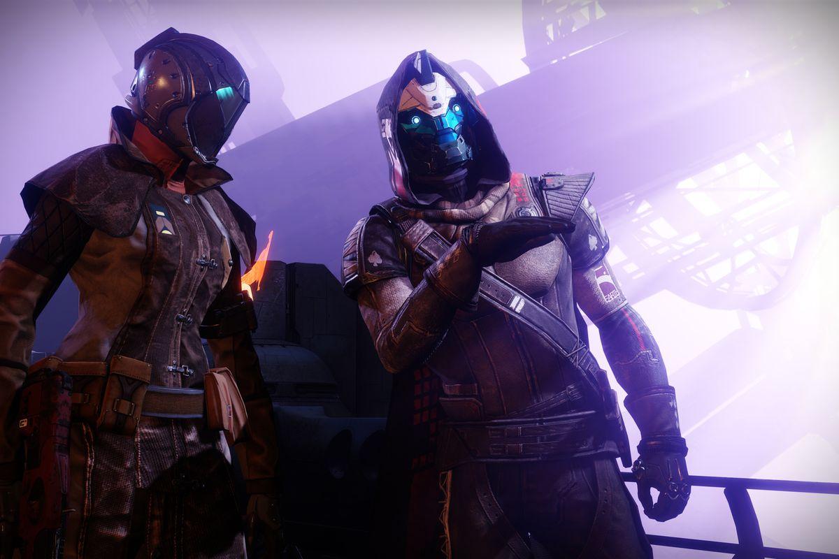 Cayde-6 with guardian - Destiny 2 Forsaken