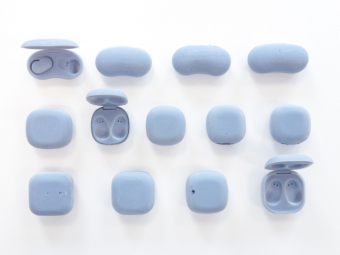 How Samsung S Beans Broke The Mold Of Wireless Earbuds The Verge Galaxy buds skins & wraps. wireless earbuds