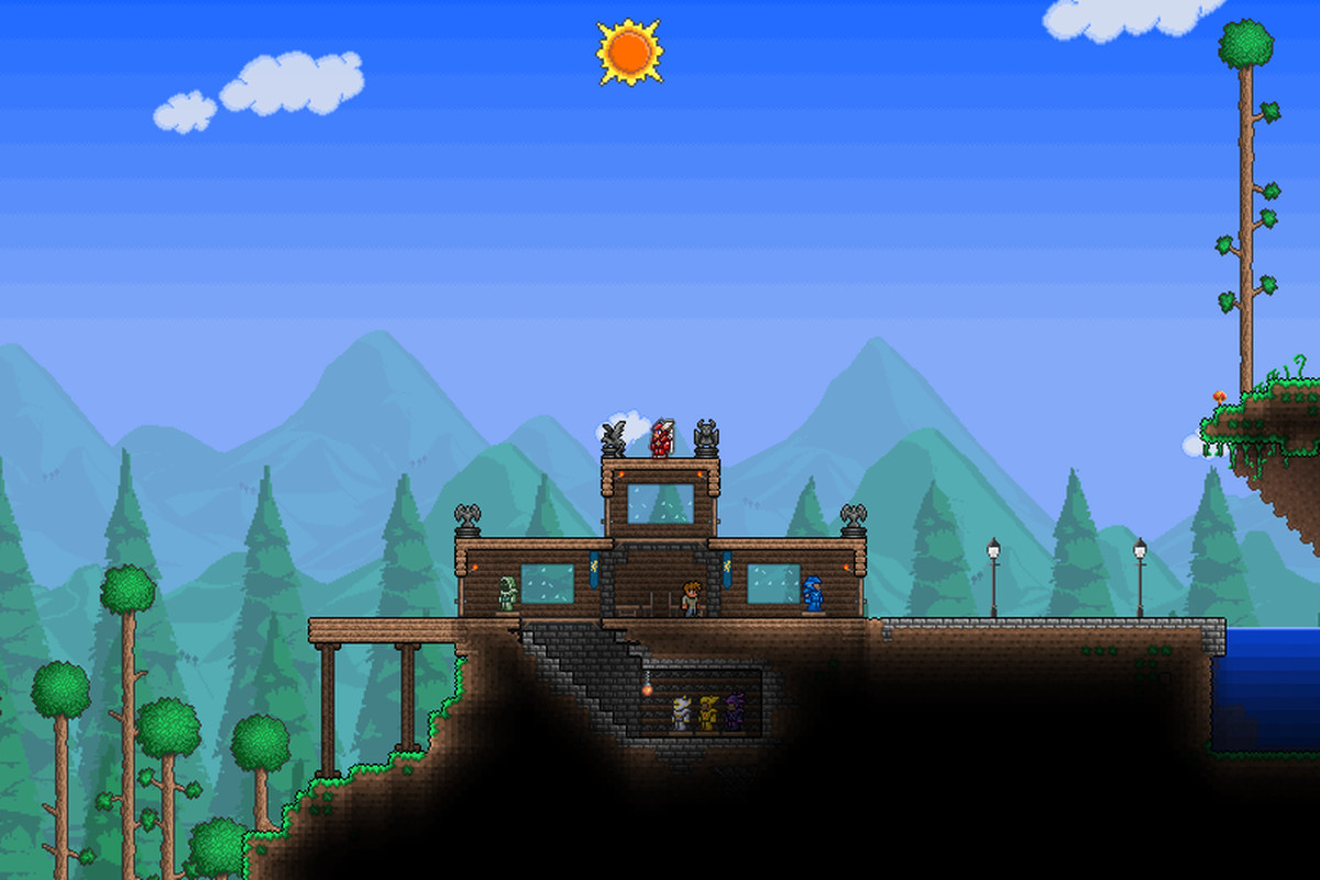 Terraria Coming To Ps4 And Xbox One This Year Polygon