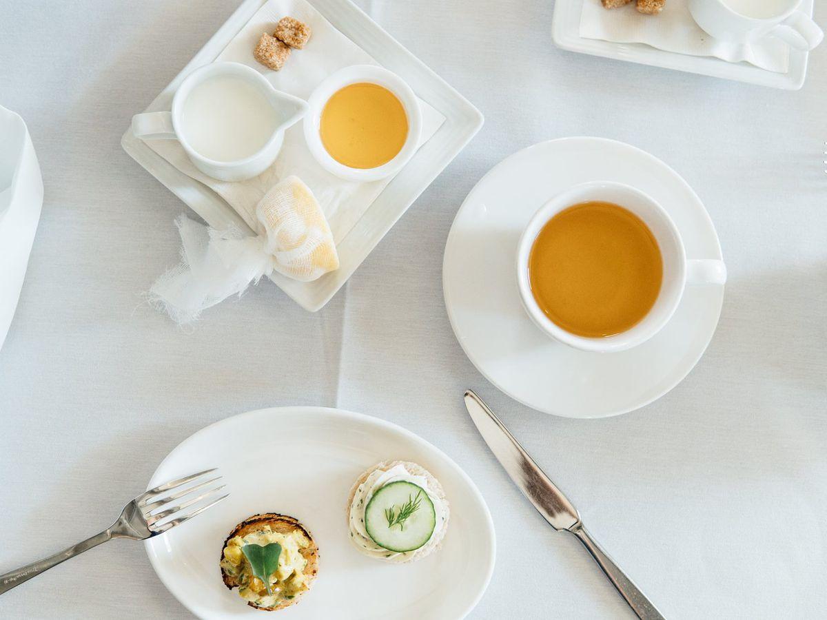 Tea at Hotel Ella