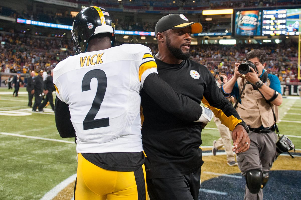 Mike Vick gets a late-career shot to shine tonight in Pittsburgh against the Baltimore Ravens