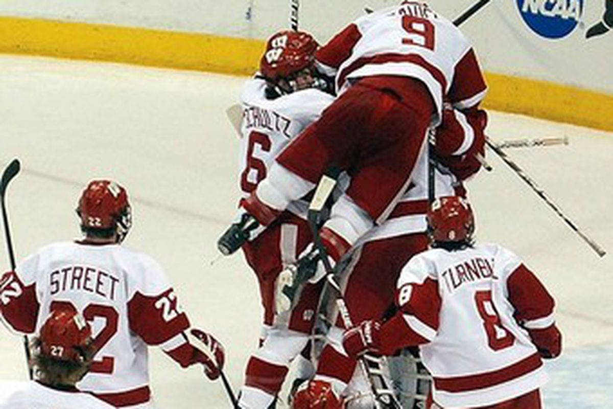 The UW men's hockey team advanced to its first Frozen Four since 2006.