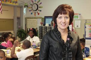 2014-15 Tennessee Teacher of the Year Karen Vogelsang, a fourth-grade teacher in Memphis