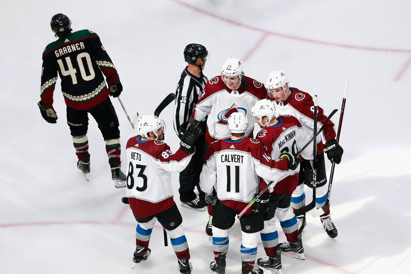 Colorado Avalanche v Arizona Coyotes - Game Four