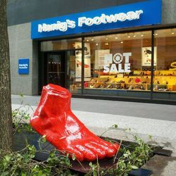 """Another European-inspired storefront, this franchise spotlights brands that choose sustainability over swank. Visit one of the four Chicagoland <a href=""""http://www.hanigs.com/"""">Hanig's Footwear</a> stores for stylish brands like Pascucci, Wolky and Thierr"""