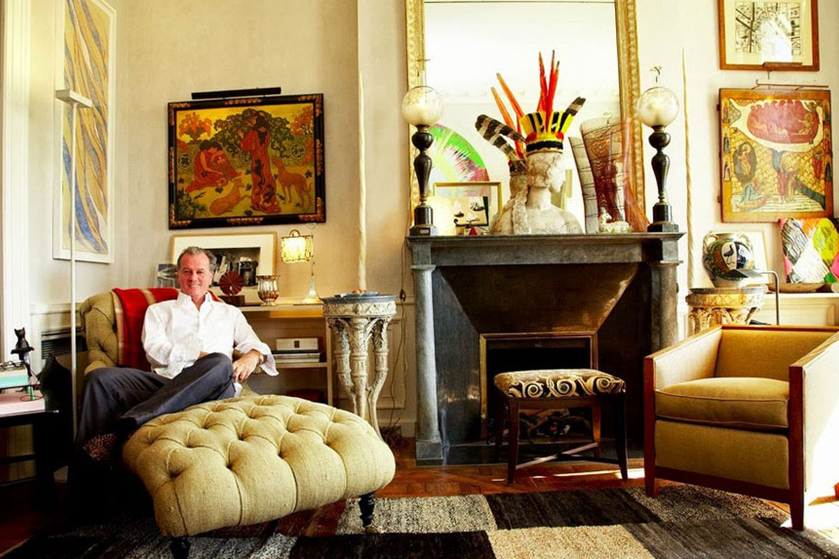 An Afternoon With Jacques Grange, Fearless Decorator for YSL ...