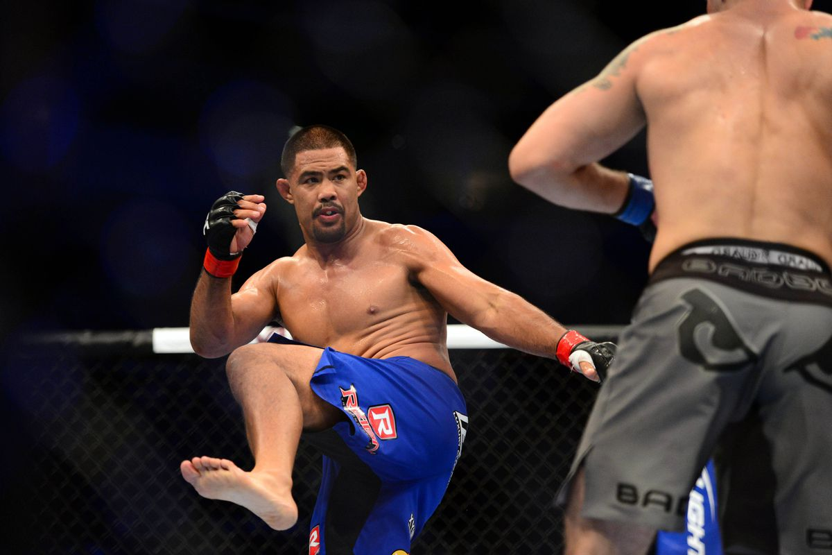 July 11, 2012; San Jose, CA, USA; Mark Munoz (left) fights Chris Weidman (right) during the middleweight bout of the UFC on Fuel TV at HP Pavilion. Photo Credit: Kyle Terada-US PRESSWIRE