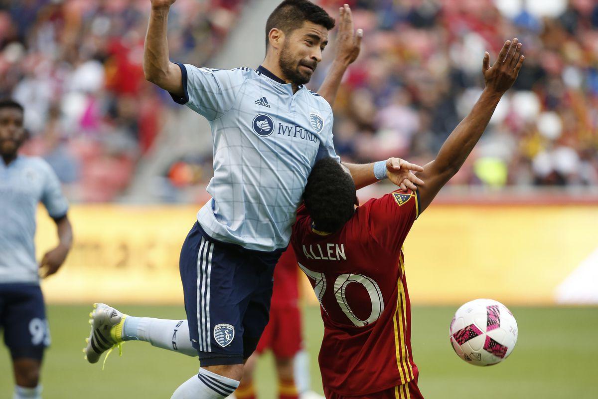 MLS: Sporting KC at Real Salt Lake